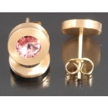 Edelstahl - Ohrstecker PVD rosé Gold Light Rose Art.105